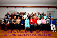 60th 13 Class of 53 - by Charley